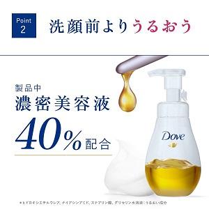 製品の40%は濃密美容液だからうるおう!