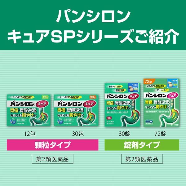パンシロン キュアSPシリーズご紹介
