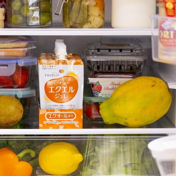 冷蔵庫にそのまま収納、毎日続く!